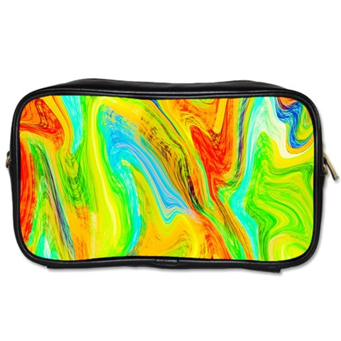Happy Multicolor Painting Toiletries Bags 2-Side
