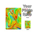 Happy Multicolor Painting Playing Cards 54 (Mini)  Back