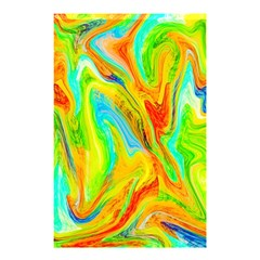 Happy Multicolor Painting Shower Curtain 48  x 72  (Small)