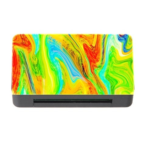 Happy Multicolor Painting Memory Card Reader with CF