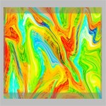 Happy Multicolor Painting Deluxe Canvas 24  x 20   24  x 20  x 1.5  Stretched Canvas