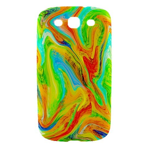 Happy Multicolor Painting Samsung Galaxy S III Hardshell Case