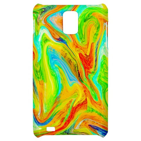 Happy Multicolor Painting Samsung Infuse 4G Hardshell Case
