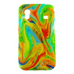 Happy Multicolor Painting Samsung Galaxy Ace S5830 Hardshell Case