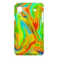 Happy Multicolor Painting Samsung Galaxy S i9008 Hardshell Case
