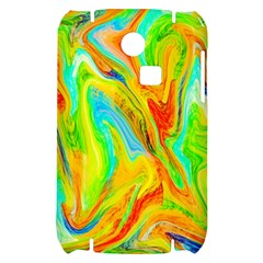 Happy Multicolor Painting Samsung S3350 Hardshell Case