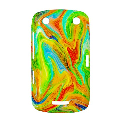 Happy Multicolor Painting BlackBerry Curve 9380