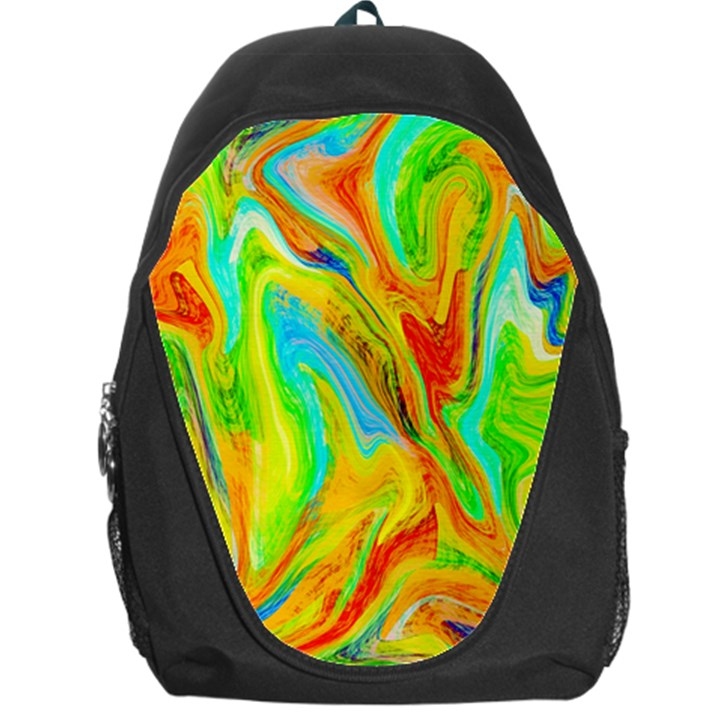 Happy Multicolor Painting Backpack Bag