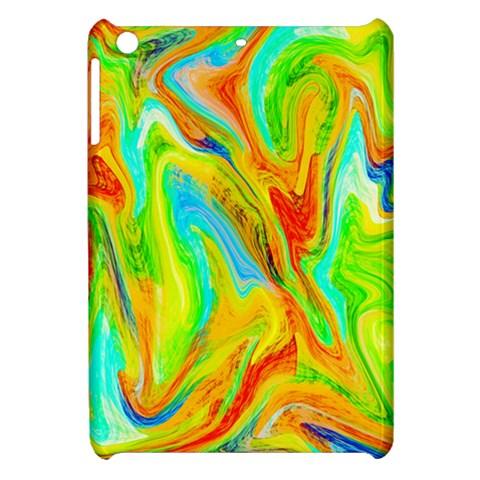 Happy Multicolor Painting Apple iPad Mini Hardshell Case