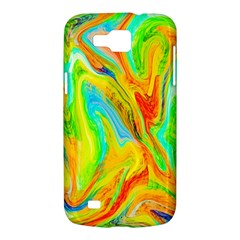 Happy Multicolor Painting Samsung Galaxy Premier I9260 Hardshell Case