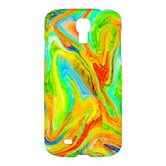 Happy Multicolor Painting Samsung Galaxy S4 I9500/I9505 Hardshell Case