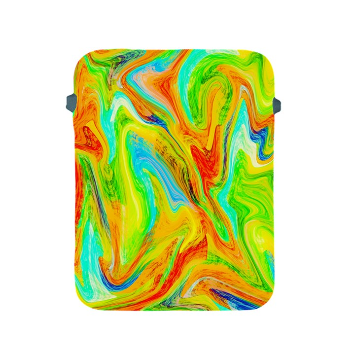 Happy Multicolor Painting Apple iPad 2/3/4 Protective Soft Cases