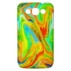 Happy Multicolor Painting Samsung Galaxy Win I8550 Hardshell Case
