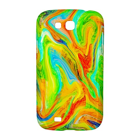 Happy Multicolor Painting Samsung Galaxy Grand GT-I9128 Hardshell Case