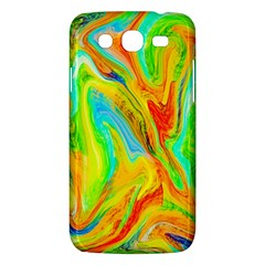 Happy Multicolor Painting Samsung Galaxy Mega 5.8 I9152 Hardshell Case