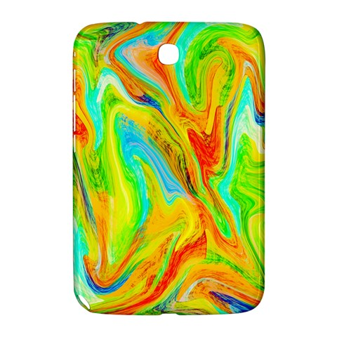 Happy Multicolor Painting Samsung Galaxy Note 8.0 N5100 Hardshell Case
