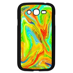 Happy Multicolor Painting Samsung Galaxy Grand Duos I9082 Case (black)