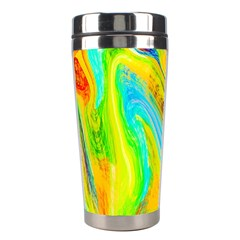 Happy Multicolor Painting Stainless Steel Travel Tumblers