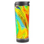 Happy Multicolor Painting Travel Tumbler Center