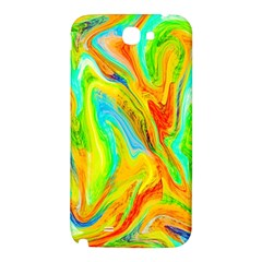 Happy Multicolor Painting Samsung Note 2 N7100 Hardshell Back Case