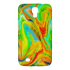 Happy Multicolor Painting Samsung Galaxy Mega 6.3  I9200 Hardshell Case