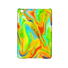 Happy Multicolor Painting iPad Mini 2 Hardshell Cases