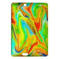Happy Multicolor Painting Amazon Kindle Fire Hd (2013) Hardshell Case