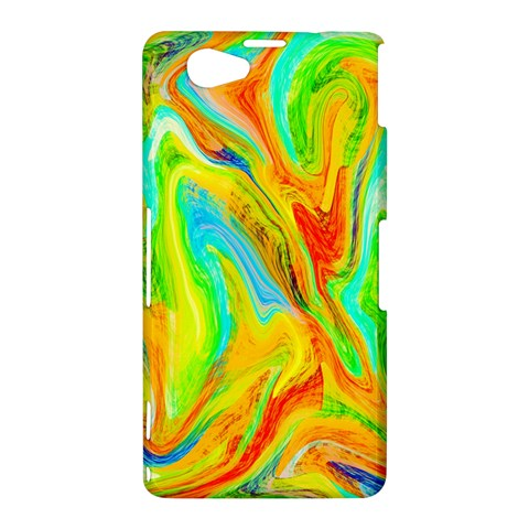 Happy Multicolor Painting Sony Xperia Z1 Compact