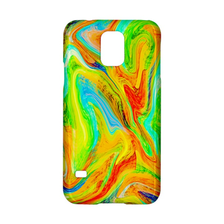Happy Multicolor Painting Samsung Galaxy S5 Hardshell Case