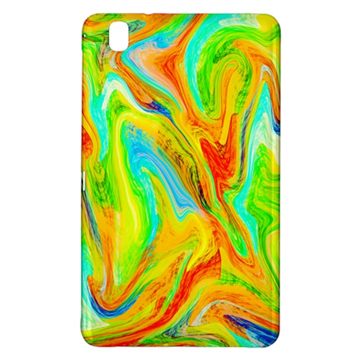 Happy Multicolor Painting Samsung Galaxy Tab Pro 8.4 Hardshell Case
