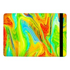 Happy Multicolor Painting Samsung Galaxy Tab Pro 10 1  Flip Case