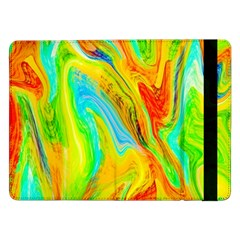 Happy Multicolor Painting Samsung Galaxy Tab Pro 12.2  Flip Case