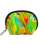 Happy Multicolor Painting Accessory Pouches (Small)  Front