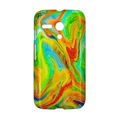 Happy Multicolor Painting Motorola Moto G