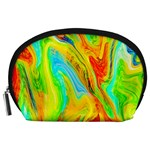 Happy Multicolor Painting Accessory Pouches (Large)  Front