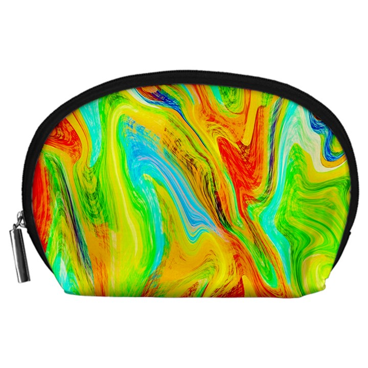 Happy Multicolor Painting Accessory Pouches (Large)