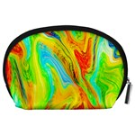 Happy Multicolor Painting Accessory Pouches (Large)  Back