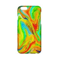 Happy Multicolor Painting Apple iPhone 6/6S Hardshell Case