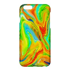 Happy Multicolor Painting Apple iPhone 6 Plus/6S Plus Hardshell Case