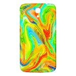 Happy Multicolor Painting Samsung Galaxy Mega I9200 Hardshell Back Case Front