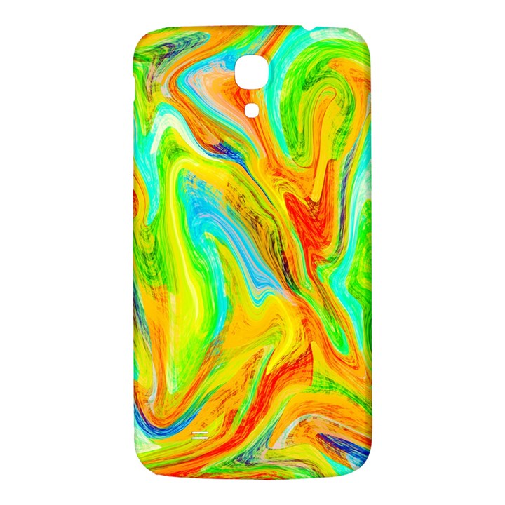 Happy Multicolor Painting Samsung Galaxy Mega I9200 Hardshell Back Case