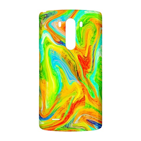 Happy Multicolor Painting LG G3 Back Case