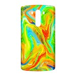 Happy Multicolor Painting LG G3 Back Case Front
