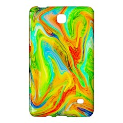 Happy Multicolor Painting Samsung Galaxy Tab 4 (7 ) Hardshell Case