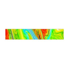 Happy Multicolor Painting Flano Scarf (Mini)