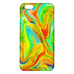 Happy Multicolor Painting iPhone 6 Plus/6S Plus TPU Case Front