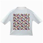 Doodle Pattern Infant/Toddler T-Shirts Back