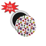 Doodle Pattern 1.75  Magnets (100 pack)  Front