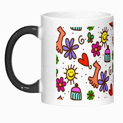 Doodle Pattern Morph Mugs