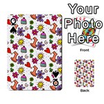 Doodle Pattern Playing Cards 54 Designs  Front - SpadeQ